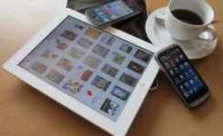 Foto van tablet en smartphone