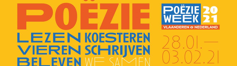 Banner Poëzieweek